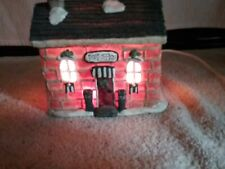 Vintage Crazy Mountain Lighted Post Office Very Good Pre-Owned Condition