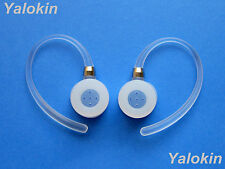 2 Ear Hooks Loops and Earbuds for Motorola Hx-600 Boom and H19, H19txt - New
