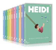 Heidi - Serie Classica Completa Vol. 1-10 (10 DVD) *Nuovo Sigillato*