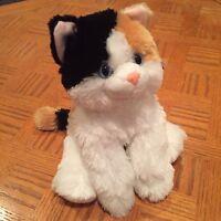 Esmeralda Calico Floppy Cat 12 inch soft plush stuffed toy by Aurora AU31539