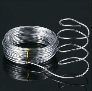 10m Long Aluminium Modelling Wire, Armature,DIY Craft Jewellery 1/1.5/2/2.5/3mm