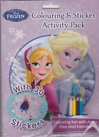 Disney Frozen Colouring and Sticker Activity Over 30 Stickers BRAND NEW