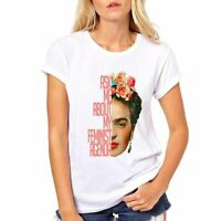 Frida Kahlo white ladies shirt