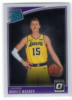 2018-19 Donruss Optic Basketball Moritz Wagner Base Rookie RC #197 Lakers