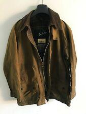 Mens Barbour Beaufort wax jacket Dark Brown coat 40 in size Medium / Large M/L