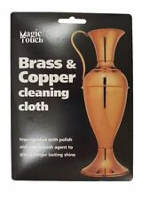 Brass & Copper Anti Tarnish Cleaning Polishing Cloth Shine Magic Touch