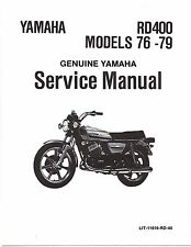 Yamaha service workshop shop manual 1976, 1977, 1978 & 1979 RD400