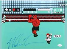 Mike Tyson Nintendo Punch Out Signed Autographed 11x14 Photo JSA Authentic 1.