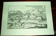 Kufstein alte Ansicht Merian Druck Stich 1650 Tirol Städteansicht Österreich