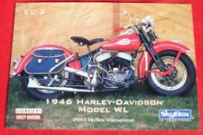 1946 HARLEY-DAVIDSON WL EMBOSSED CARDS EC-2 FROM 1994 SKYBOX