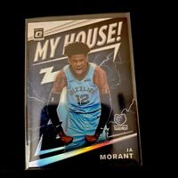 2019-20 Donruss Optic JA MORANT Rookie MY HOUSE Holo Prizm Silver Card - Memphis