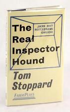 Tom Stoppard Première Édition 1968 le Réel Inspector Chien Courant Reliure W/