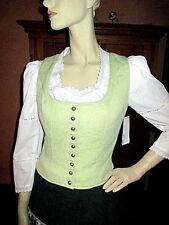 NEU Mieder Gr.36 Oberteil Tracht  Weste ohne Bluse / Kleid lindgrün