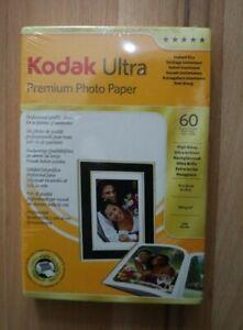 KODAK Ultra Premium Photo Paper High Gloss 60 Sheets 10 x 15 cm 4 x 6 inches