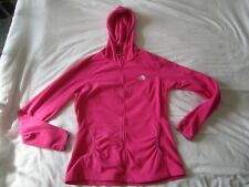 Para mujer Sudadera con capucha de lana de The North Face/Chaqueta M UK 12 Rosa Abrigo Con Capucha Top 100