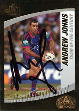 Autographed Andrew Johns NRL & Rugby League Trading Cards