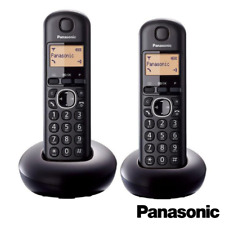PANASONIC TGB212 TWIN DIGITAL LCD CORDLESS PHONE WITH CALLER ID - KX-TGB212EB