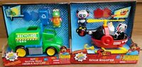 Brand New Ryan's World Combo Panda Rescue Helicopter & Gus' Recycle Truck