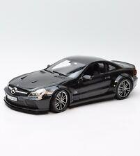 Minichamps Mercedes Benz SL65 AMG Sportwagen in schwarz lackiert, 1:18, X011