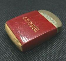 vintage AW FABER made in Bavaria ruber eraser holder in wood with ink eraser