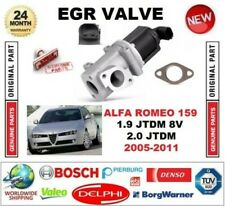 FOR ALFA ROMEO 159 1.9 JTDM 8V 2.0 jtdm 2005-2011 EGR VALVE 2-PIN with GASKETS