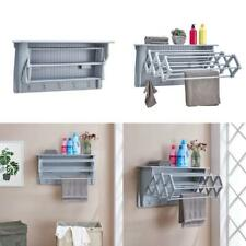 36 In. Light Grey Wall Completely Maintenance Efficient Retractable Accordion
