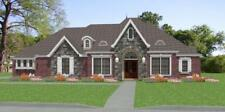 Affordable Custom French Exec House Home Plans 3 bed 2812sf PDF only
