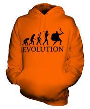 VIKING EVOLUTION OF MAN UNISEX HOODIE MENS WOMENS LADIES GIFT COSTUME