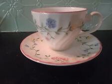 johnson bros summer chintz tea cup & saucer