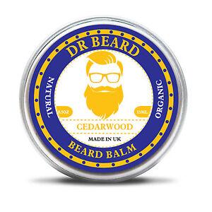 Dr Beard - Organic Beard Balm & Skin Nourishing 15ml - 100% Organic Cedarwood