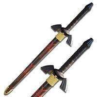 """38"""" Black Legend of the Dark Links Twilight Princess Master Zelda Sword cosplay"""