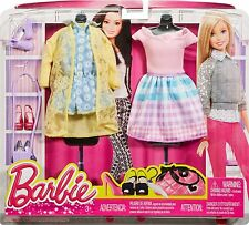 BARBIE FASHION PACK SOMEWHERE OVER THE GINGHAM RAINBOW DHB44 NEW*