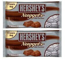 Hershey's Nuggets Milk Chocolate Candy 2 Bag Pack