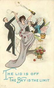 Artist impression Celebration C-1910 Party Time Couples kicking up heels 7477