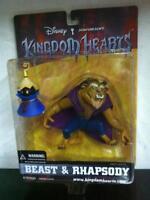 Mirage Disney Kingdom Hearts Beauty the BEAST & RHAPSODY Action Figure MOC,2002