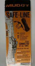 Muddy Safe-Line 30' Braided Nylon Rope Dual Prusik Knot 300# Nib Premier Msa 500