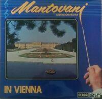Mantovani & His Orchestra - In Vienna (Vinyl) 2 lp set DECCA EXCELLENT CONDITION