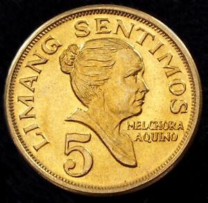 Philippines 5 Sentimos 1968 (GLIU-002C)