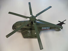 MARAUDER ATTACK HELICOPTER Vintage 1980's Army LJN Rough Riders 4x4 Omni Force