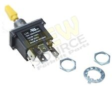 4360314 TOGGLE  SWITCH FITS JLG LIFT (ON)-OFF-(ON)  WATERPROOF(MOMENTARY) EC042