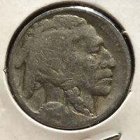 USA 1915 D Buffalo Nickel 5 Cent Denver Gute Erhaltung Selten #11078