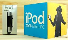  Apple iPod Classic 4th Gen 40gb in Original Box + New Sealed Carryng Case