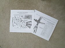 Waupon Steel Chief Windmill Trade & Parts List & Diagrams