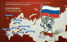 RUSSIA 2017 Booklet, FIFA World Cup Russia. Stadiums, MNH