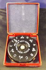 "Vintage ""Master Key"" A-440 13 Key Chromatic Pitch Instrument. Orig. Plastic Box"