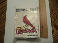 NEW PAIR of 2 St. Louis Cardinals Static Cling Sticker Window / Car FAN DEAL!!!