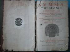 BECANO : SUMMA THEOLOGIAE SCHOLASTICAE, 1666. In folio