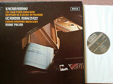 SXLF 6565-7 Rachmaninov The 4 Piano Concertos / Ashkenazy / Previn 3 LP box