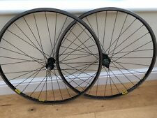 Mavic Open Pro Black Road Bike wheelset with Hope Hubs (Pro 3 Hubs)