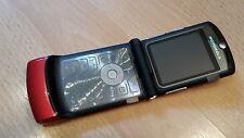 Motorola Razr v3i en rouge + pliante portable + avec film + Sans Simlock * Topp *